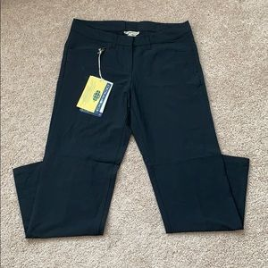 NWT Exofficio black gallivant pants 6p